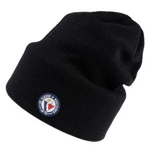 Beanie slouchy with silicon logo