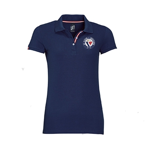 Women's polo shirt with circular logo HC Slovan