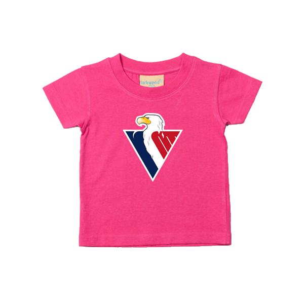 f6fb0a53c195e Baby tričko logo Slovan - ružová 1 + 1 zadarmo