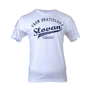 "T-shirt white for adult ""From Slovan"""