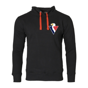 Sweatshirt kids kangaroo red laces logo in circle Slovan