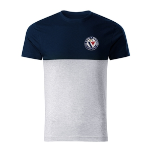 T-shirt for men connection with the stitched logo HC Slovan
